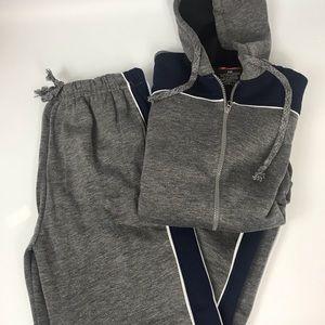 Other - Men's Fleece Track Suit Joggers Sweatshirt 2XL XXL